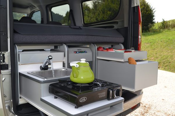 Flip Campingbox Küche