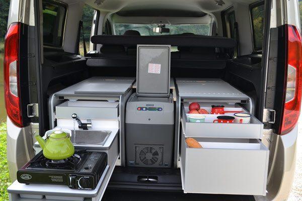Flip Campingbox Küche & Stauraum