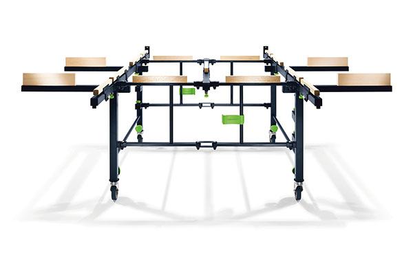 Säge- und Arbeitstisch STM 1800 auf der Holz-Handwerk 2020