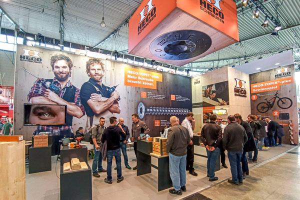 Heco-Topix-plus auf der Dach+Holz 2020
