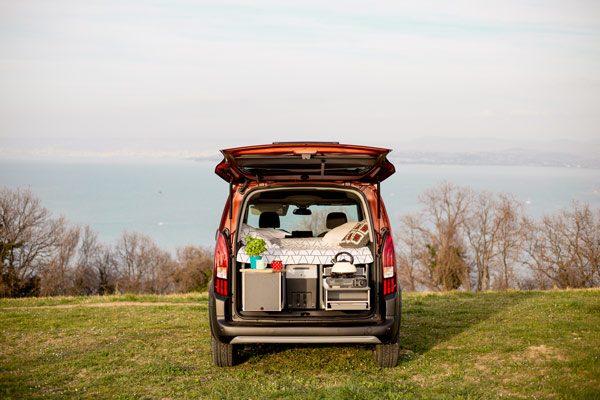 Flip Campingbox Kochen & Schlafen
