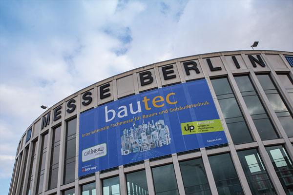 Messe Berlin: bautec 2020