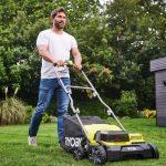 Akku-Vertikutierer für die Rasenpflege