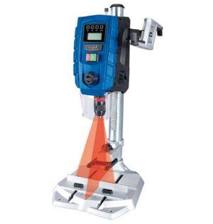 Tischbohrmaschine mit Laser und 2-Gang-Getriebe
