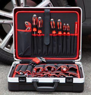 Werkzeugsatz im Koffer