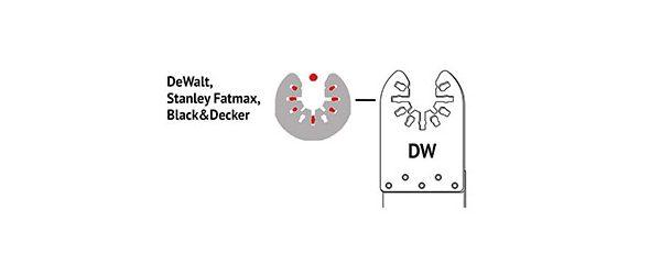 Werkzeugaufnahme DW von DeWalt Multitool
