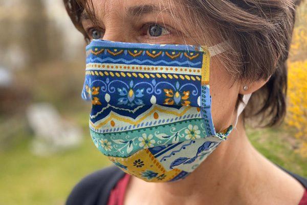 Mundschutz-Maske von Ines