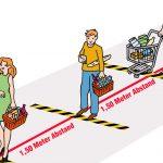 Corona-Schutzmaßnahmen für den Handel
