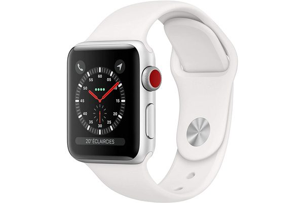 Platz 3: Apple Watch Series 3 GPS + Cellular, 329 Euro