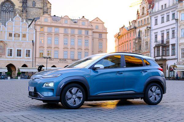 Hyundai Kona Elektro, ab 28.907 €/netto