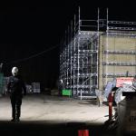 Baustrahler für Großflächenbeleuchtung
