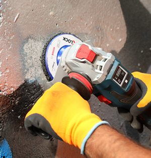 """Oberflächenschonende Reinigung mit der """"Cleaning Disc"""""""