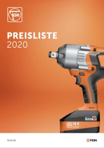 Fein Preisliste 2020