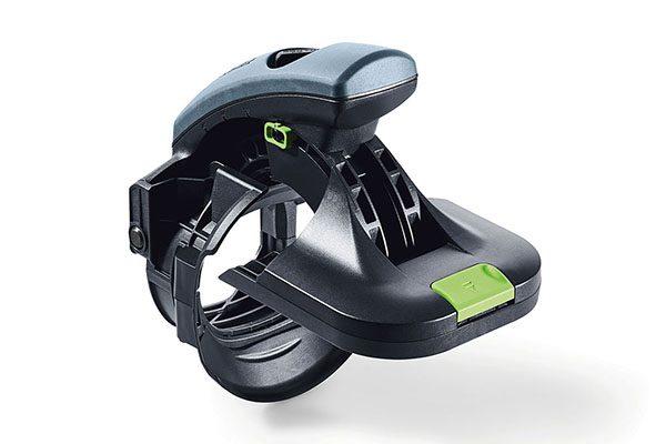 Kunden, die bereits einen ETS 125 besitzen können ihr Schleifgerät (ab Modelljahr 2016) mit der neuen Ansetzhilfe zum Kantenschleifer aufwerten