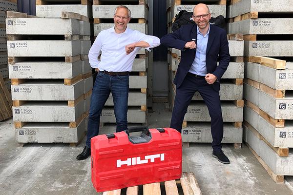 Partnerschaft Hilti und Ottobock