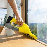 Fenstersauger für streifenfreien Glanz