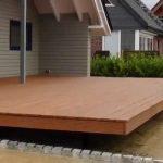 Schwebende Holzterrasse bauen