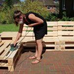 Wohnglück: Paletten Lounge selber bauen