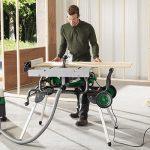 Tischkreissäge für breite Holzstücke