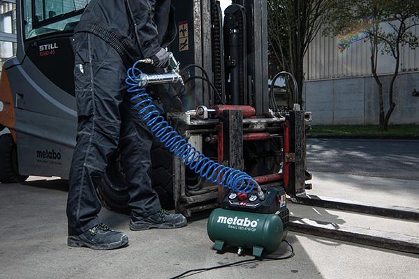 Der neue Kompressor Basic 160-6 W OF eignet sich für unterschiedlichste Gewerke und Anwendungen.