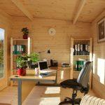 Büro im Garten