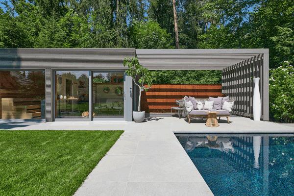 Gartenhaus Luxus