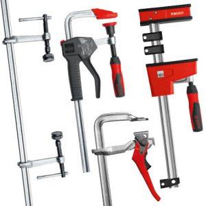 Auch Spannwerkzeuge für spezielle Anwendungen bietet BESSEY.