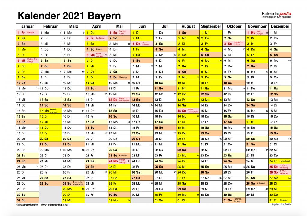 Ferien Bayern