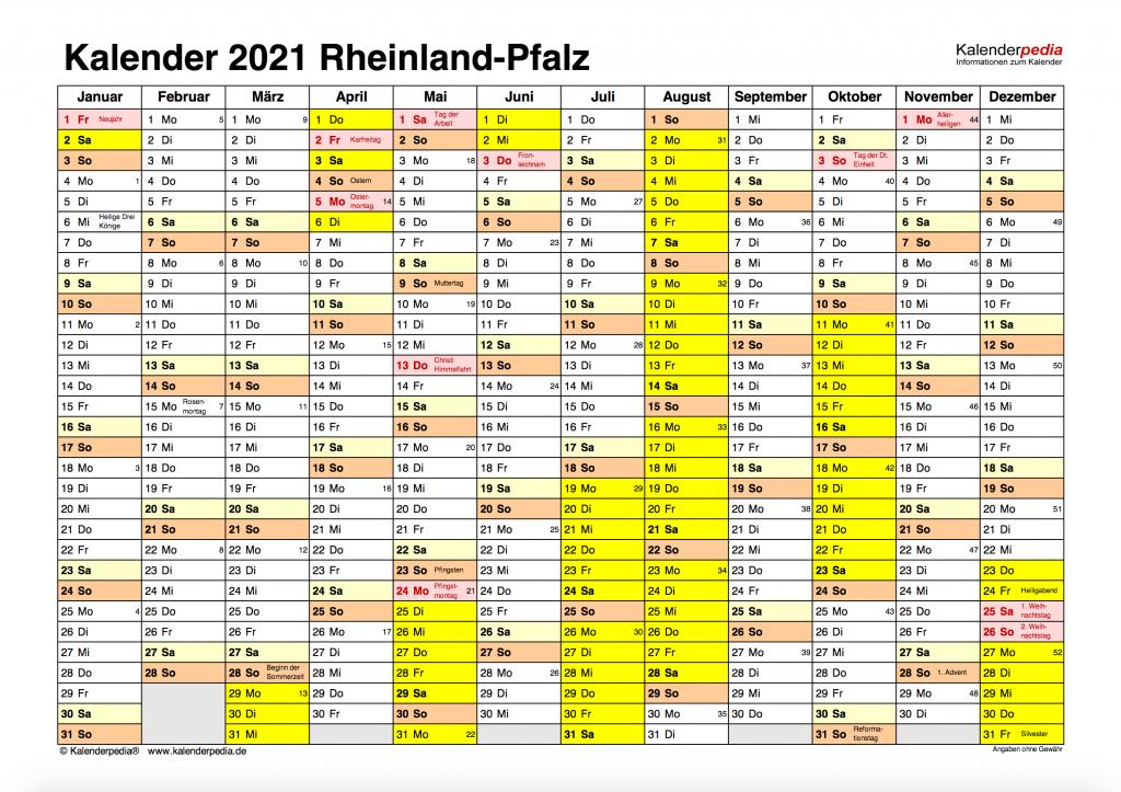 Ferien Rheinland-Pfalz