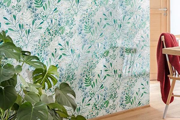 Florale Tapete // Quelle: tapetenstudio.de