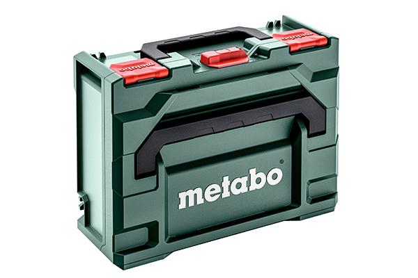 Die metaBOX Koffer von Metabo sind extrem robust und belastbar.