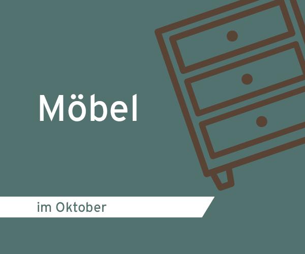 Themenmonat Oktober Möbel