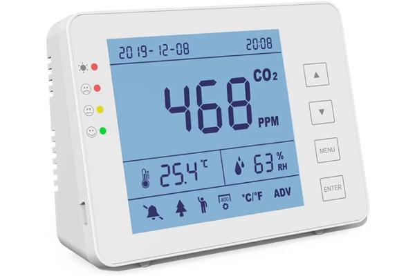 CO2 Messgerät zur Überwachung der Luftqualität