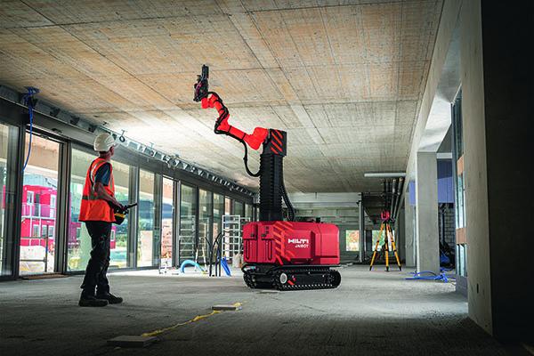 Jaibot Baustellenroboter