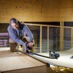 Skatepark-Bauer nutzt Werkzeuge von Bosch