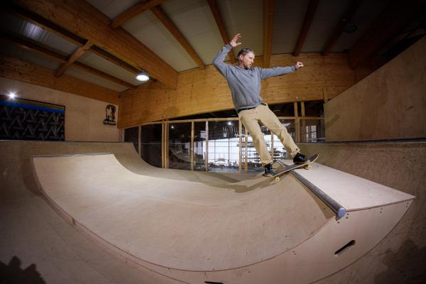 Skatepark gebaut mit Bosch-Werkzeugen