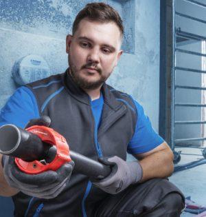 Rohrabschneider Rocut Plastic Pro