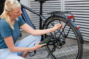 Anwendung Fahrradreifen