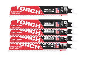 Torch Nitrus Carbide-Säbelsägeblätter