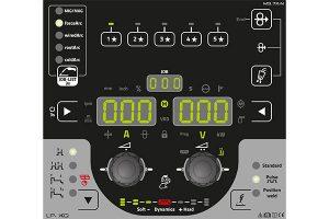 Die LP-Steuerung, die bei allen XQ-Geräten zur Verfügung steht, hat Favoritentasten, mit denen Anwender ihre persönlichen Schweißeinstellungen abspeichern können.
