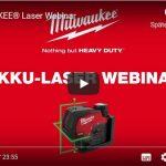 Webinar Milwaukee: Baustellenlaser