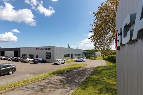 Das dänische Unternehmen SCANGRIP hat seinen Hauptsitz in Svendborg und produziert LED-Arbeitsleuchten für Kunden aus Industrie und Handwerk.