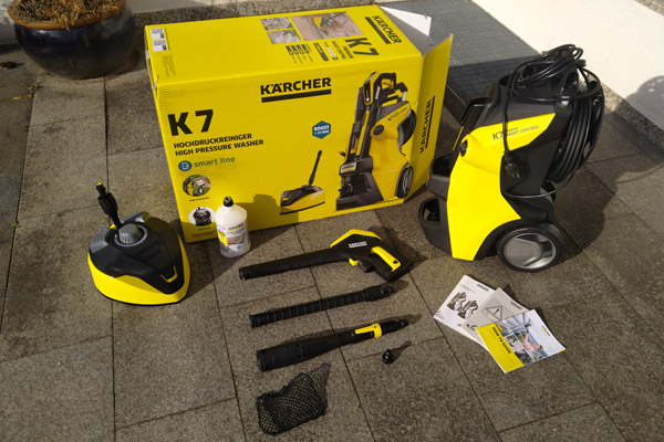 Lieferumfang Kärcher K7 Premium Smart Control Home