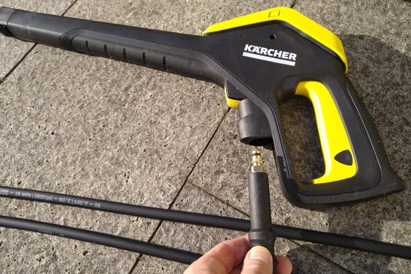 Kärcher K7 Schlauchanschluss