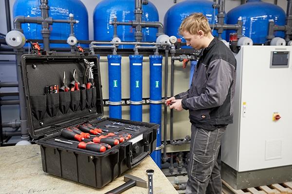 Werkzeugkoffer Basic Set L mechanic