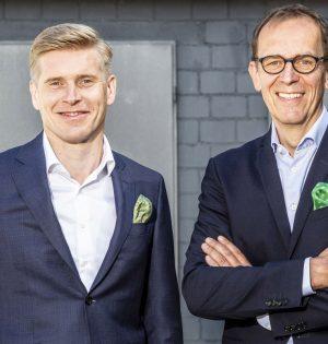 Horst Garbrecht (rechts), der CEO von Metabo und COO von KOKI Holdings Europe, will beruflich neue Wege gehen. Der bisherige Direktor Vertrieb Europa, Henning Jansen, wird zum 1. Juli sein Nachfolger.