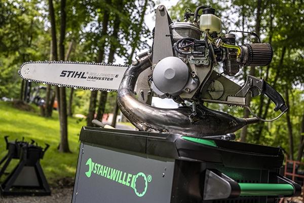 Kooperation Stihl Timbersports und Stahlwille