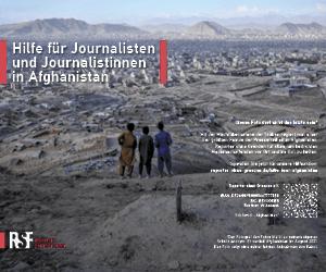 Reporter ohne Grenzen Afghanistan Hilfe für Journalisten