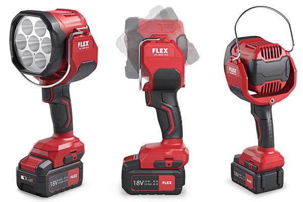 Akku-Flutlicht-Handlampe WL 2800 18.0 Flex